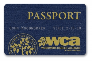 Passport card front