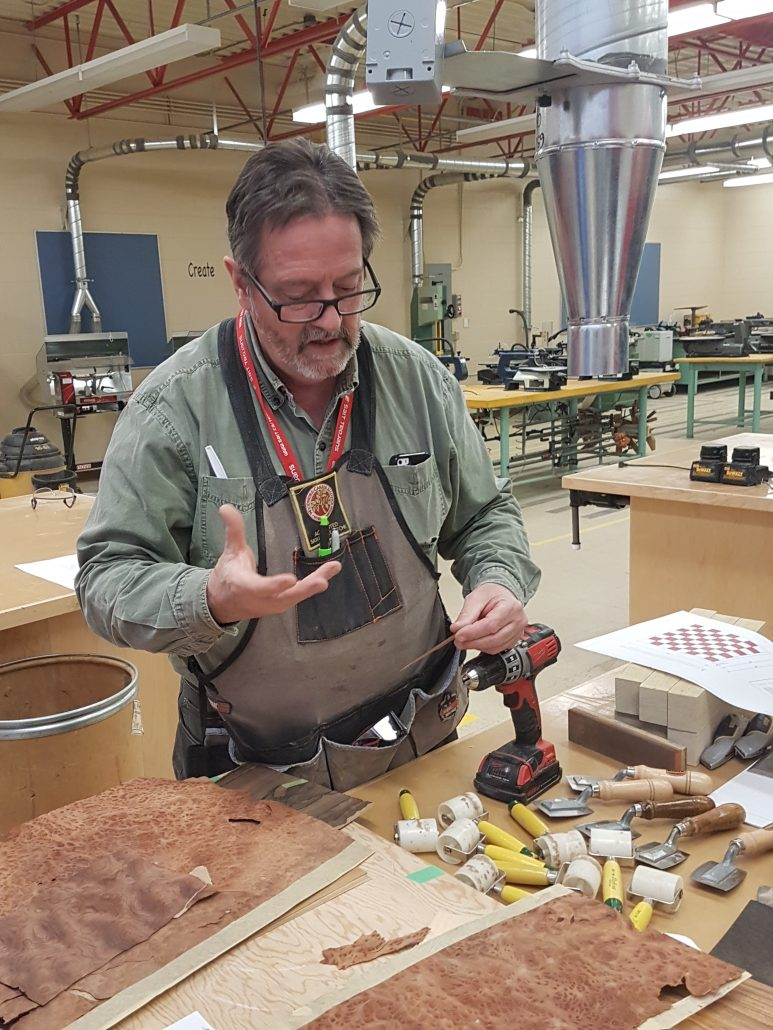 Meet Mick Mcgowan The Wca S Canadian Connection Woodwork Career